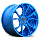 2-PC Forged Aluminum Alloy Rims For Ford Mustand / 21 inch Customized Aluminum Alloy Wheels Rims